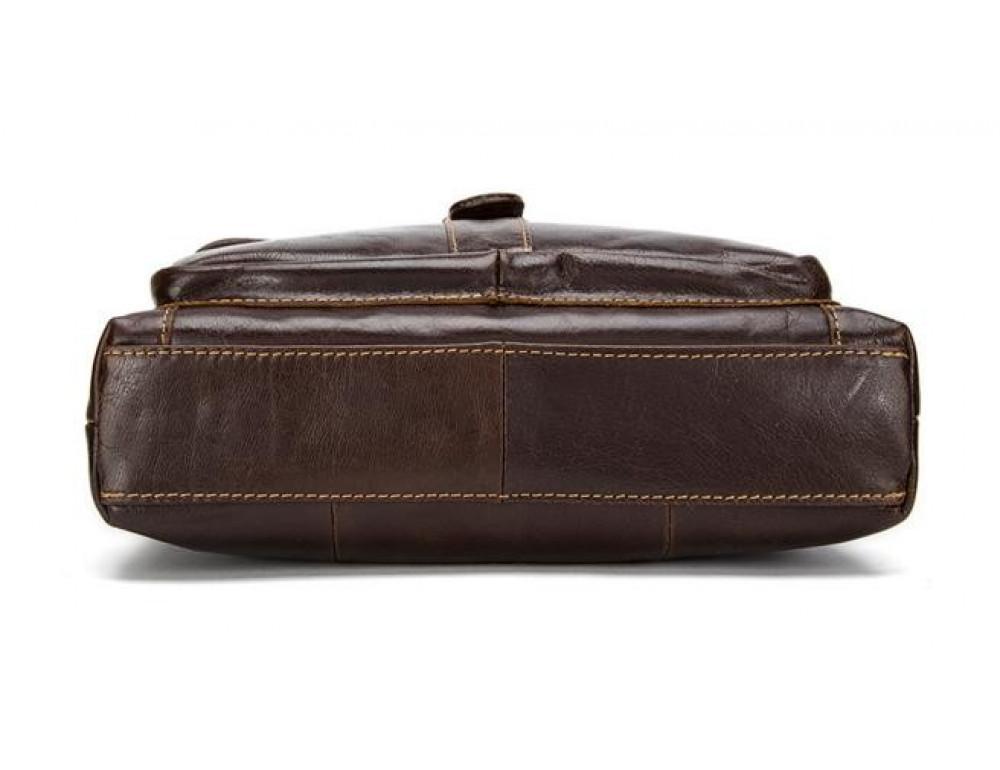 Мужская кожаная сумка-мессенджер Bexhill Bx1292C - Фото № 12