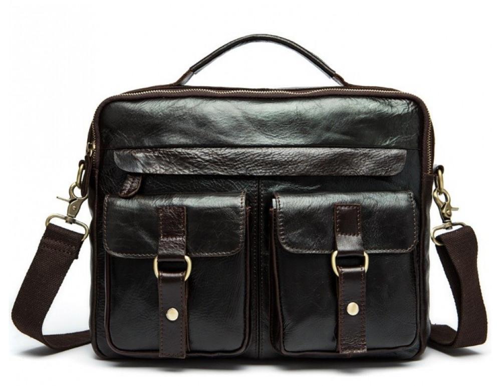 Мужская кожаная сумка Bexhill Bx8001B