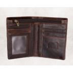 Мужской кожаный коричневый портмоне Bexhill bx0233C - Фото № 102