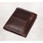 Мужской кожаный коричневый портмоне Bexhill bx0233C - Фото № 103
