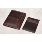 Мужской кожаный коричневый портмоне Bexhill bx0233C - Фото № 106