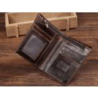 Мужской кожаный коричневый портмоне Bexhill bx0233C - Фото № 104