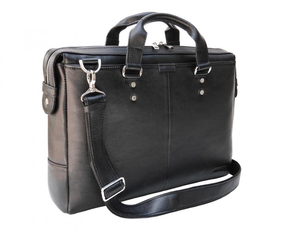 Чоловіча шкіряна сумка портфель Newery N1025GA - Фотографія № 4