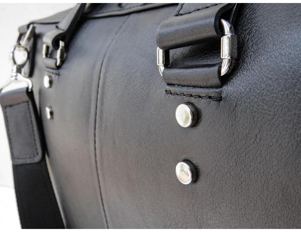 Чоловіча шкіряна сумка портфель Newery N1025GA - Фотографія № 7