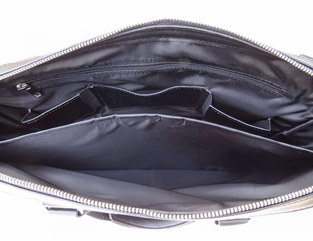 Чоловіча шкіряна сумка портфель Newery N1025GA - Фотографія № 9
