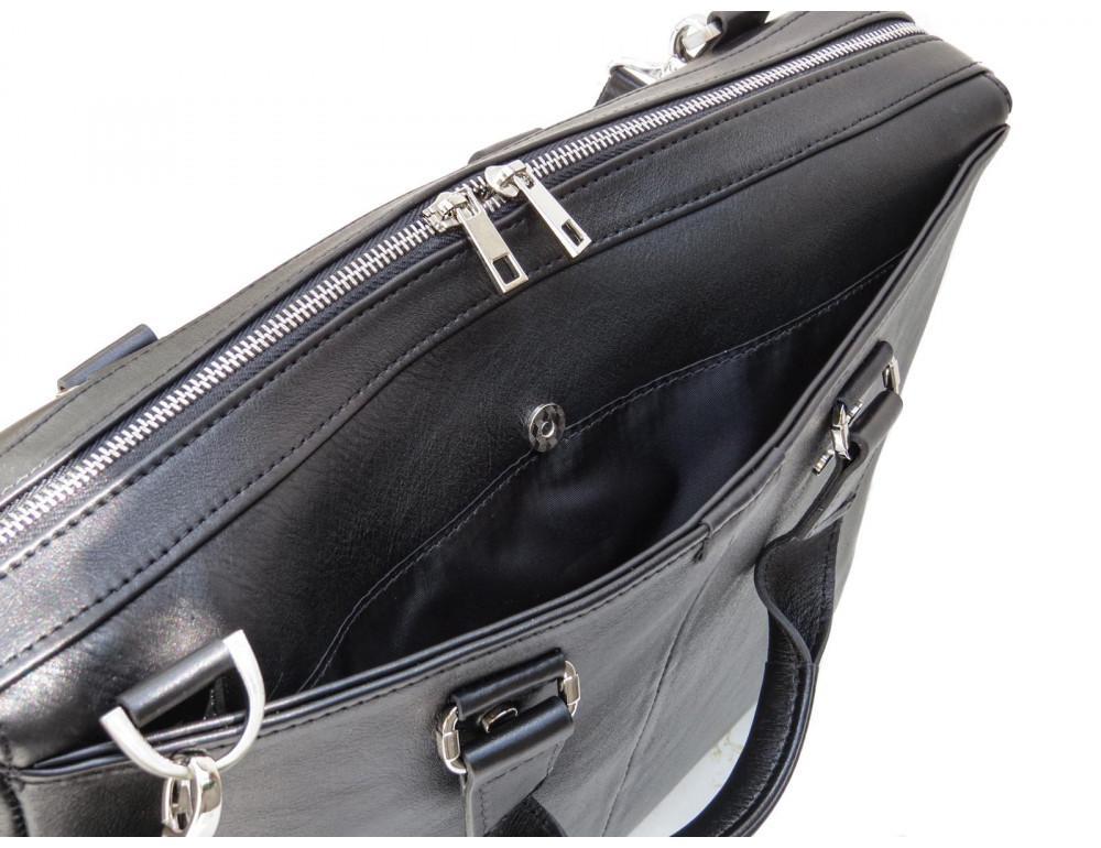 Чоловіча шкіряна сумка портфель Newery N1025GA - Фотографія № 8