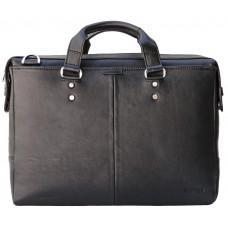 Мужская кожаная сумка портфель Newery N1025GA