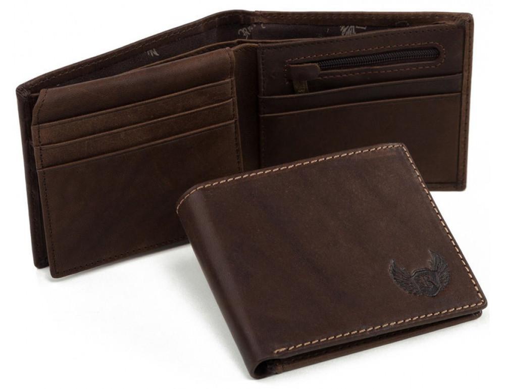 Мужской кожаный кошелёк Ruff Ryder RR-37906B