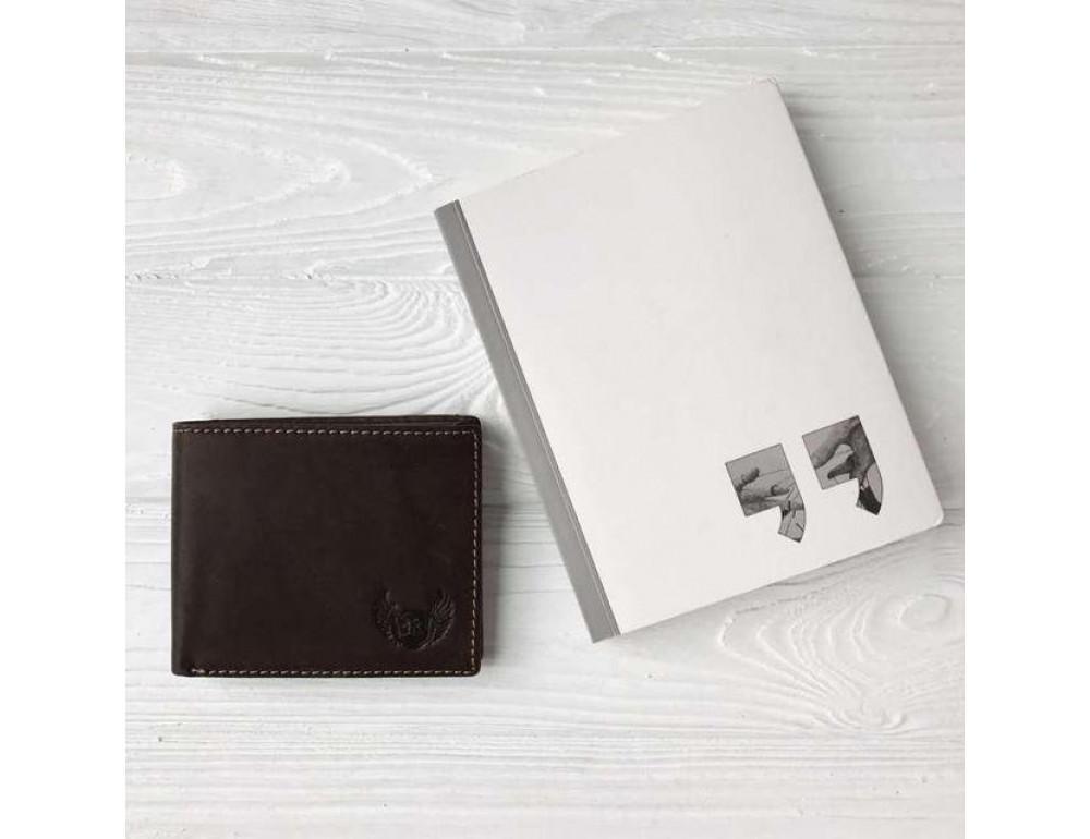 Мужской кожаный кошелёк Ruff Ryder RR-37906B - Фотографія № 3