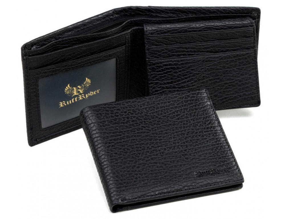 Мужской кожаный кошелёк Ruff Ryder RR-38001WA - Фото № 5