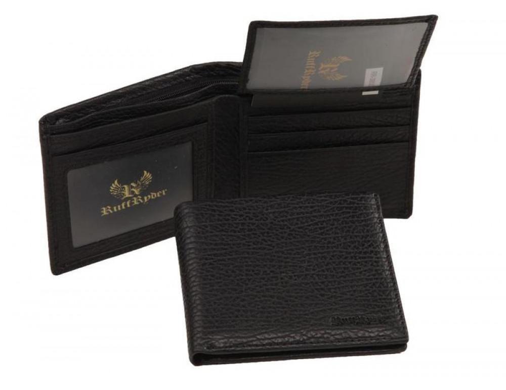 Мужской кожаный кошелёк Ruff Ryder RR-38001WA