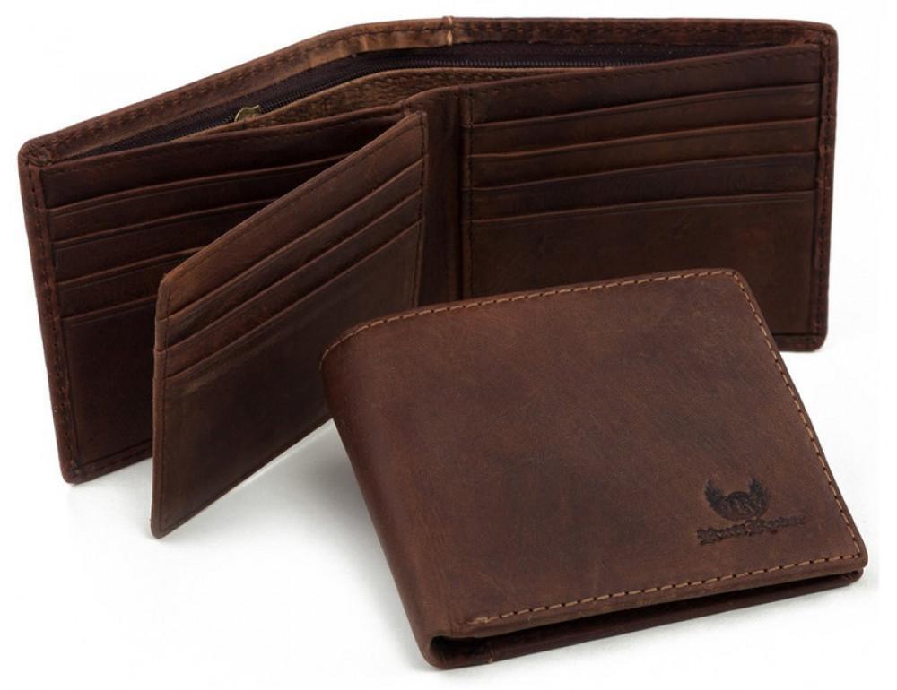 Мужской кожаный кошелёк Ruff Ryder RR-38032WB