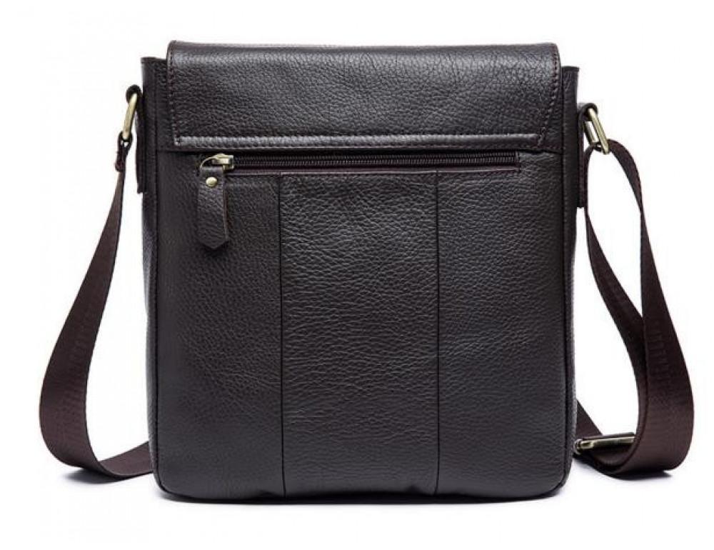 Мужская кожаная сумка-мессенджер Bexhill Bx819C коричневый - Фото № 2