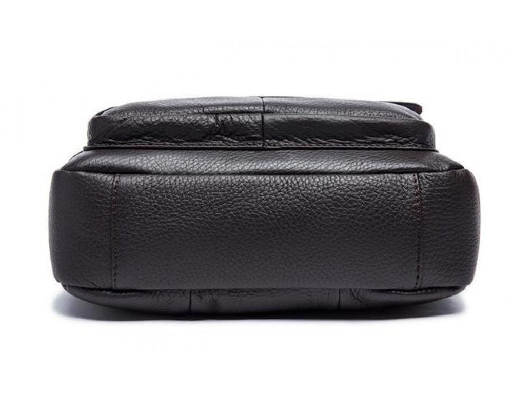 Мужская кожаная сумка-мессенджер Bexhill Bx819C коричневый - Фото № 10
