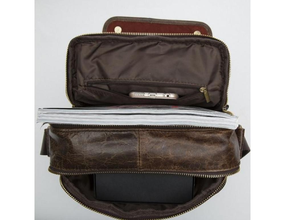 Мужская кожаная сумка-мессенджер Bexhill Bx1121C - Фото № 3