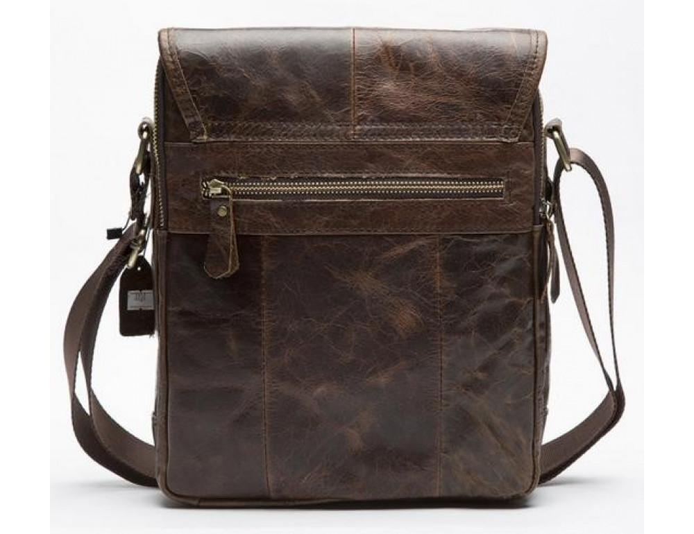 Мужская кожаная сумка-мессенджер Bexhill Bx1121C - Фото № 2