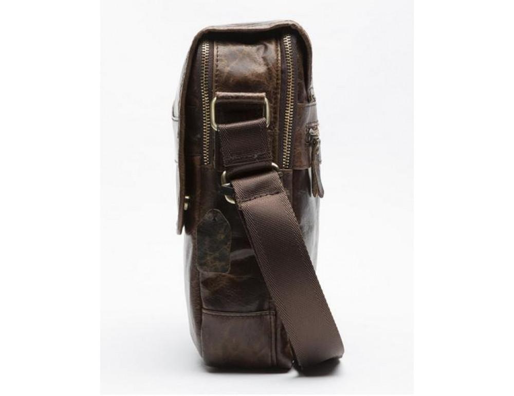 Мужская кожаная сумка-мессенджер Bexhill Bx1121C - Фото № 7