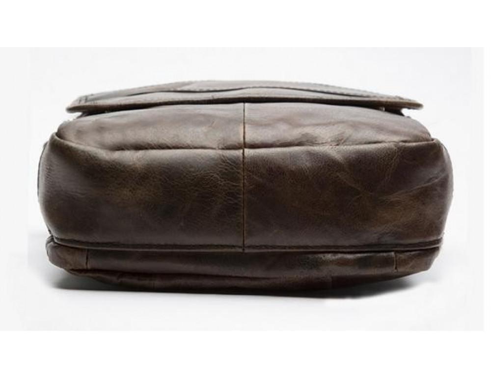 Мужская кожаная сумка-мессенджер Bexhill Bx1121C - Фото № 8