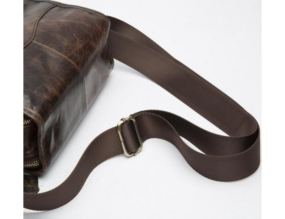 Мужская кожаная сумка-мессенджер Bexhill Bx1121C - Фото № 10