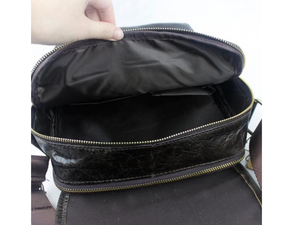Мужская кожаная сумка-мессенджер Bexhill Bx1121C - Фото № 11