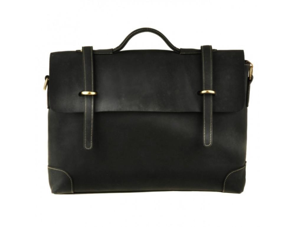 Вместительный кожаный портфель Bexhill Bx1033DB