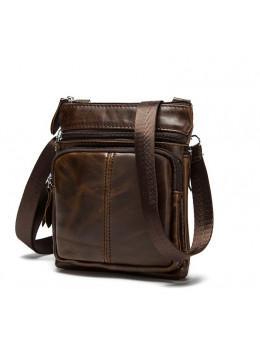 Мужская кожаная сумка-мессенджер Bexhill BX124