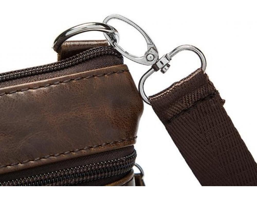 Мужская кожаная сумка-мессенджер Bexhill BX124 - Фото № 12