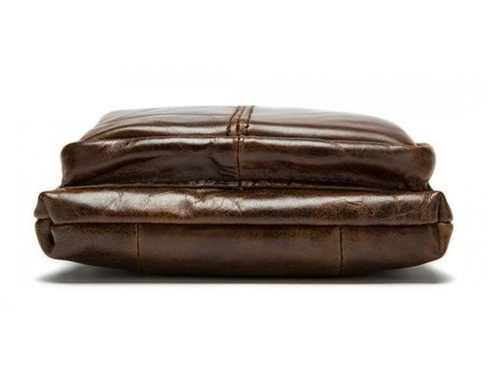 Мужская кожаная сумка-мессенджер Bexhill BX124 - Фото № 11