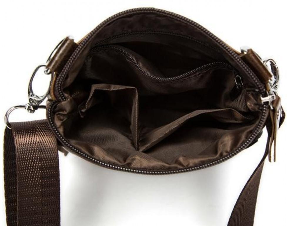 Мужская кожаная сумка-мессенджер Bexhill BX124 - Фото № 10