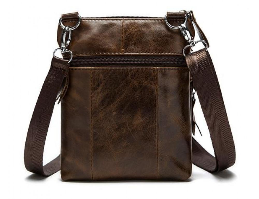 Мужская кожаная сумка-мессенджер Bexhill BX124 - Фото № 7
