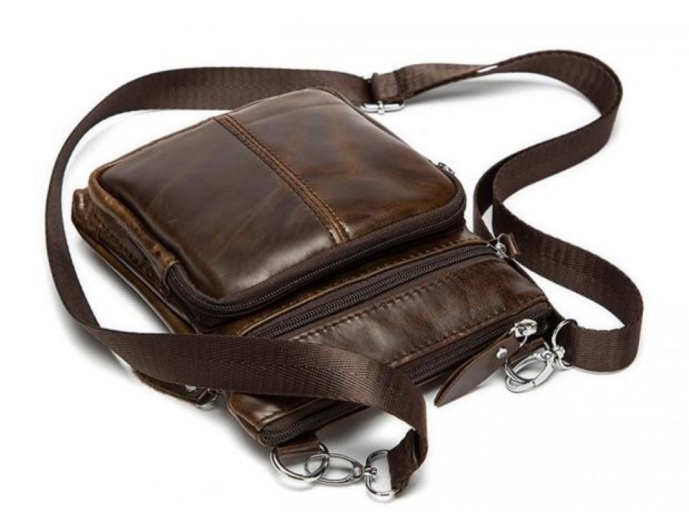 Мужская кожаная сумка-мессенджер Bexhill BX124 - Фото № 5