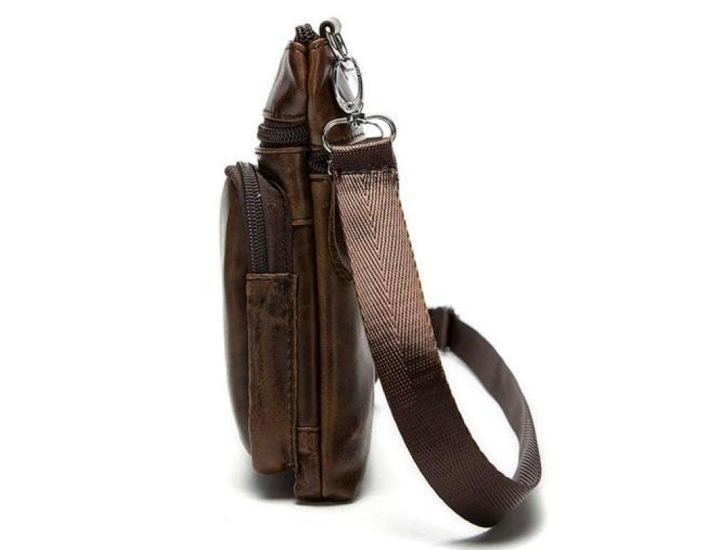 Мужская кожаная сумка-мессенджер Bexhill BX124 - Фото № 4