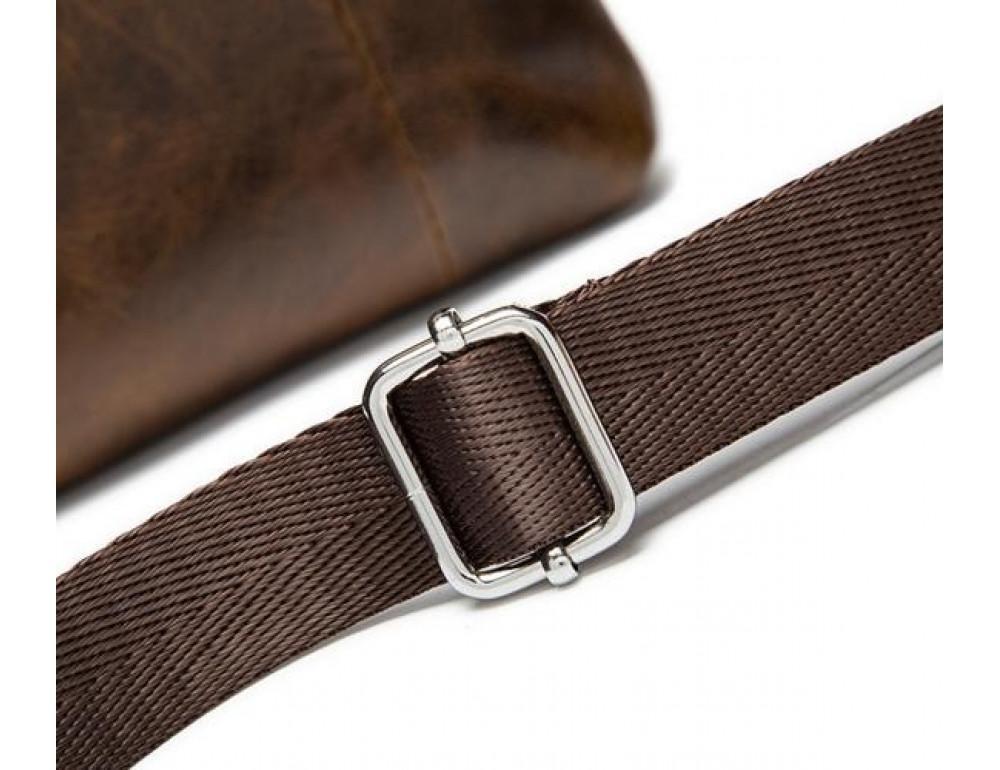 Мужская кожаная сумка-мессенджер Bexhill BX124 - Фото № 14
