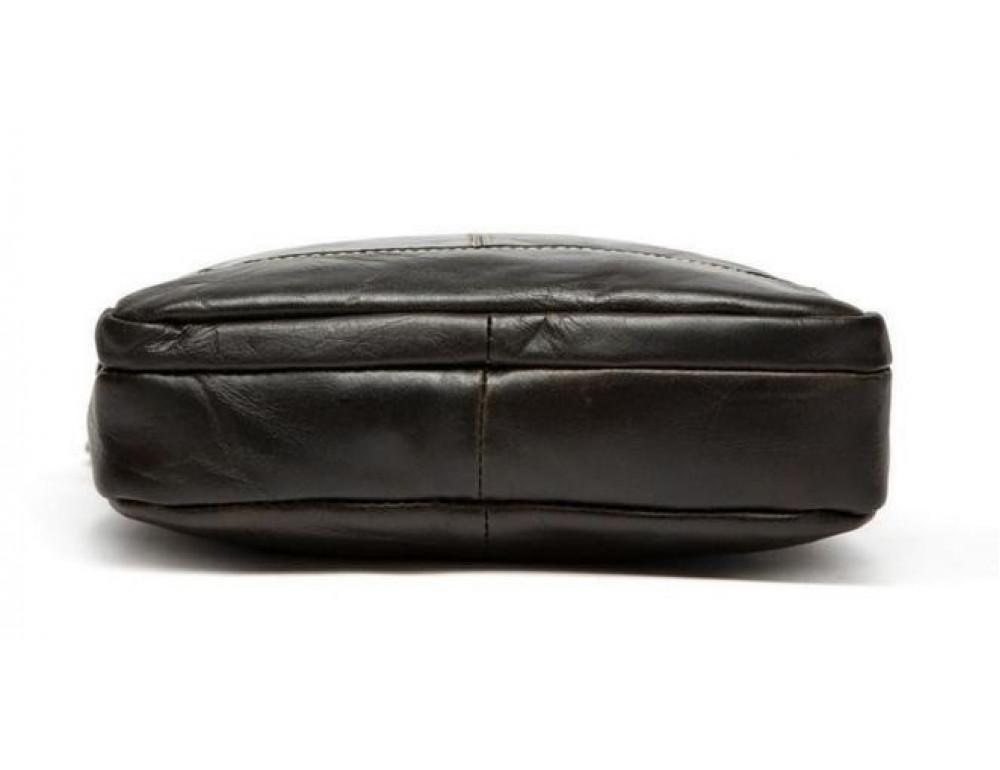 Чоловіча шкіряна сумка-месенджер Bexhill Bx207-1C коричнева - Фотографія № 11