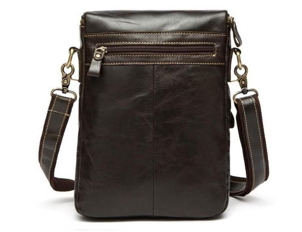 Чоловіча шкіряна сумка-месенджер Bexhill Bx207-1C коричнева - Фотографія № 4