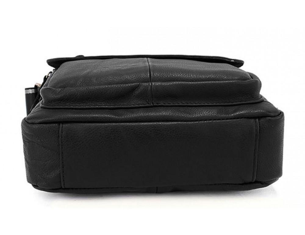 Чоловіча шкіряна сумка-месенджер Bexhill Bx819A чорний - Фотографія № 7