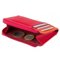 Женский кошелек-картхолдер RB110 RED M темно-красный