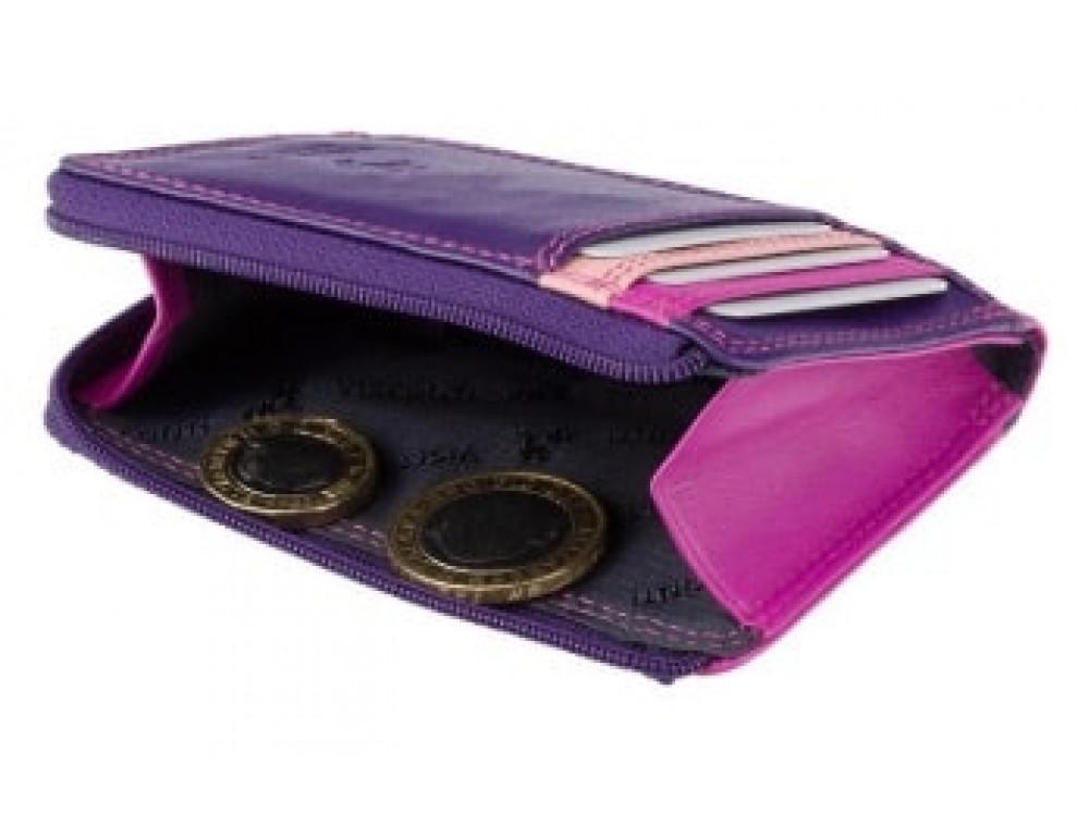 Жіночий гаманець-Картхолдер RB110 BERRY M бузковий / ожиновий / рожевий,