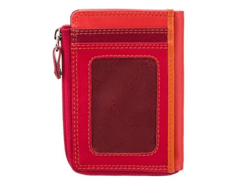 Женский кошелек-картхолдер RB110 RED M темно-красный - Фото № 3