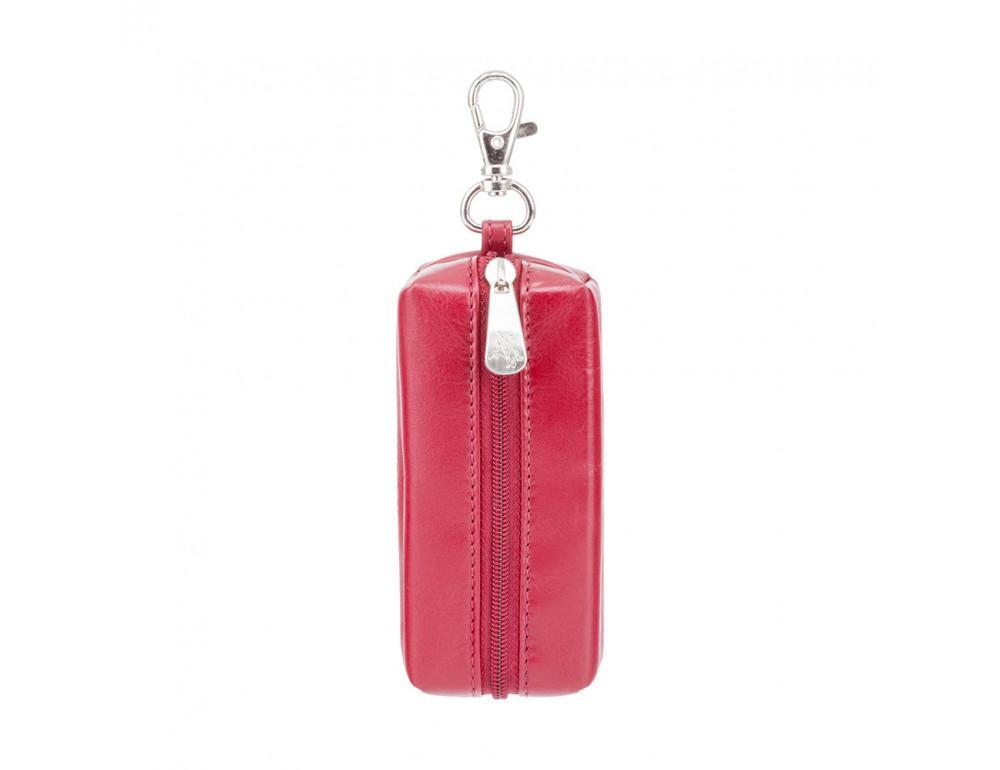Красная кожаная ключница Visconti Prato MZ18 IT RED