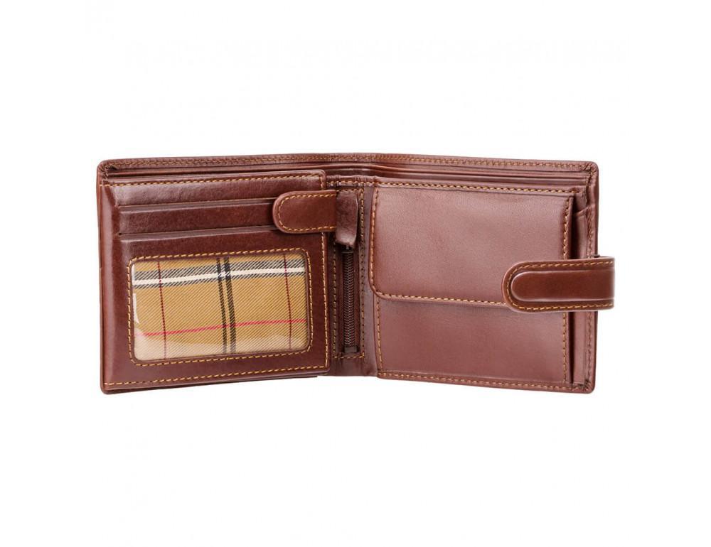 Мужской кожаный кошелек Visconti MZ5 IT BRN коричневый - Фото № 2