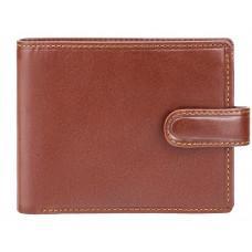 Мужской кожаный кошелек Visconti MZ5 IT BRN коричневый