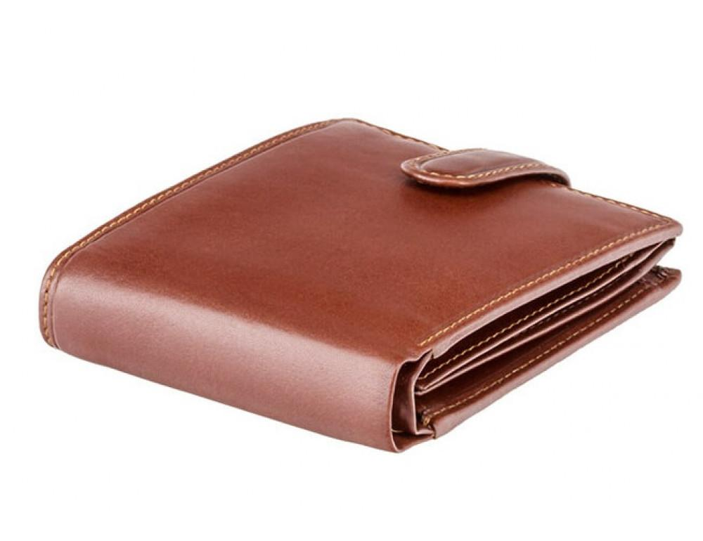 Мужской кожаный кошелек Visconti MZ5 IT BRN коричневый - Фото № 4