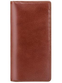 Коричневый кошелек мужской Visconti MZ6 IT BRN Turin c RFID Italian Brown