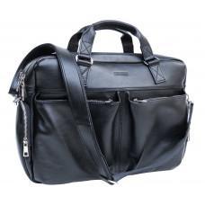 Мужская кожаная сумка большого размера Newery N0021GA