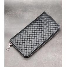 Мужской кожаный кошелёк-клатч на одно отделение Newery N10003GAP
