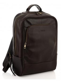 Коричневый мужской рюкзак молодёжный Newery N1003GC