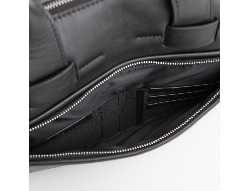 Стильна чоловіча шкіряна сумка Newery N1930NA - Фотографія № 6