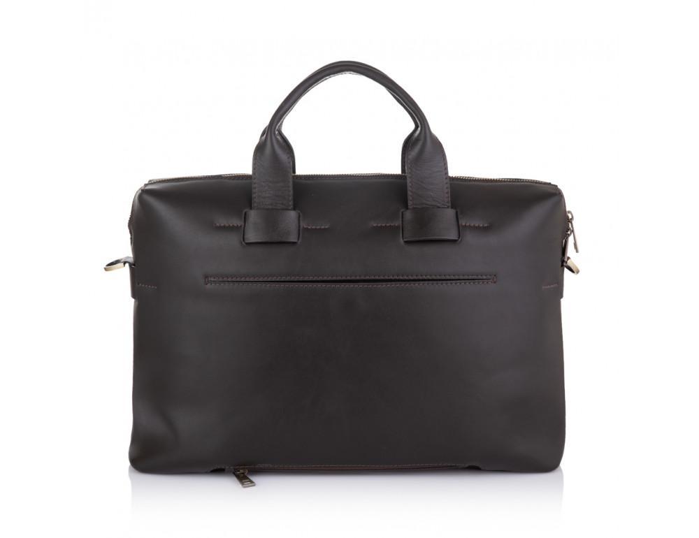 Брендовая кожаная сумка под документы NEWERY N1930GC - Фото № 3