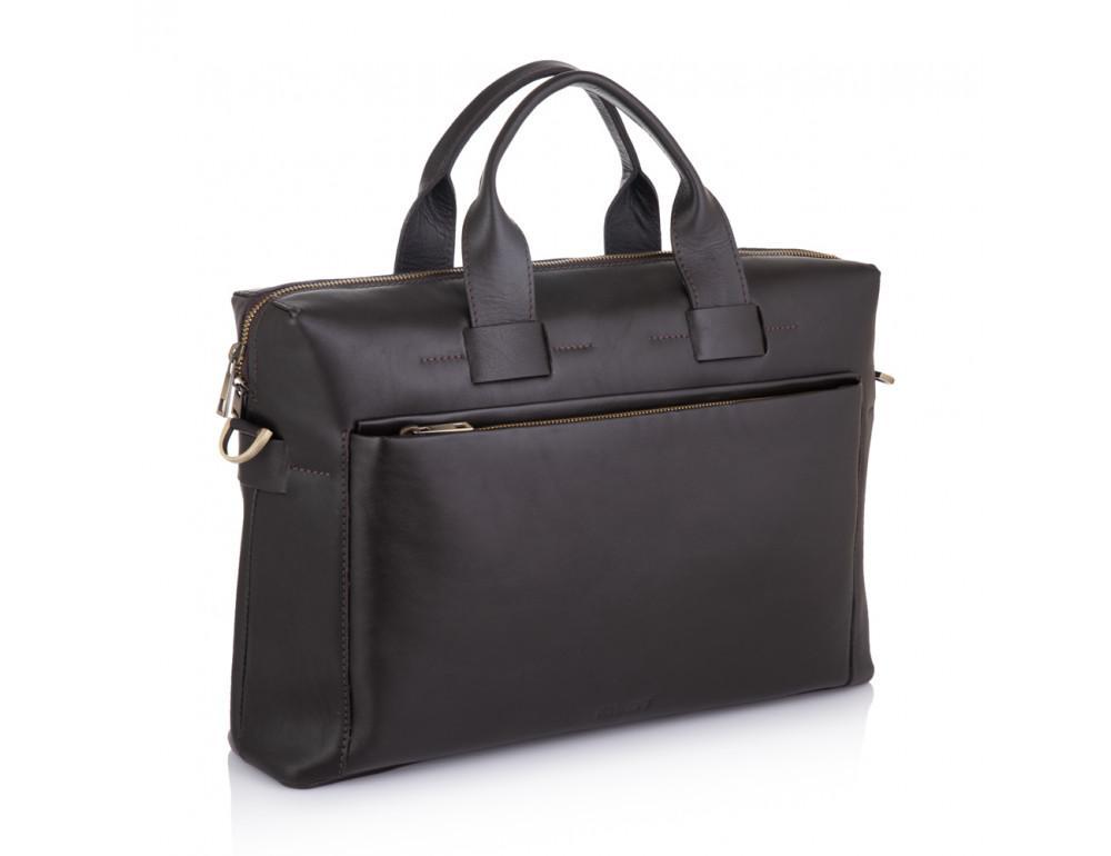 Брендовая кожаная сумка под документы NEWERY N1930GC - Фото № 1